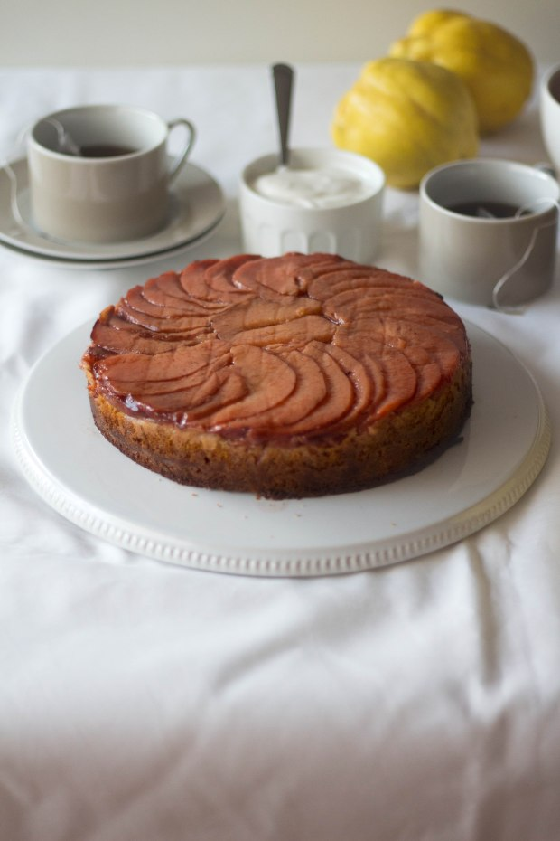 Quince upside down cake3