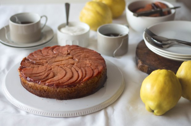 Quince upside down cake4