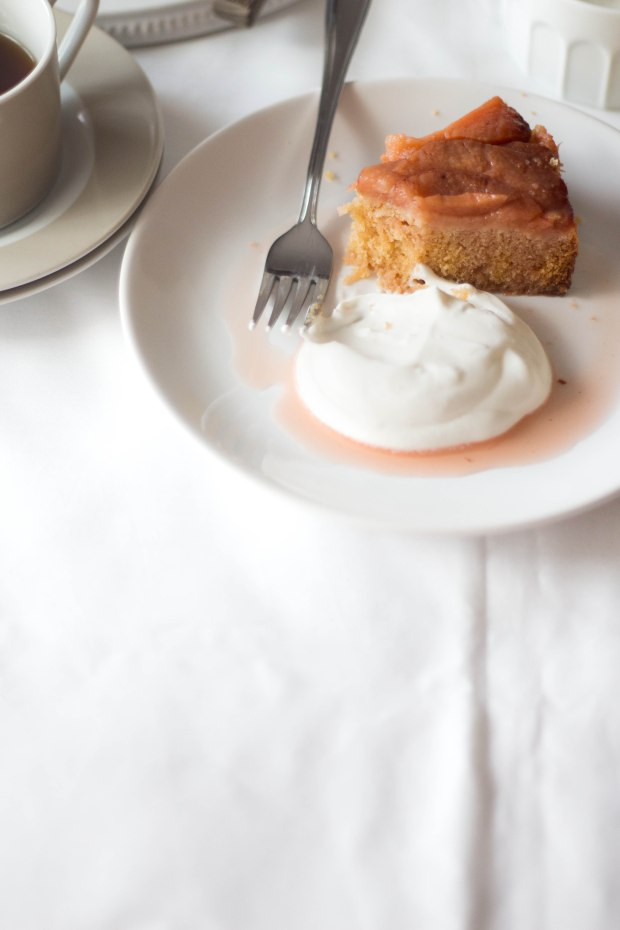 Quince upside down cake9