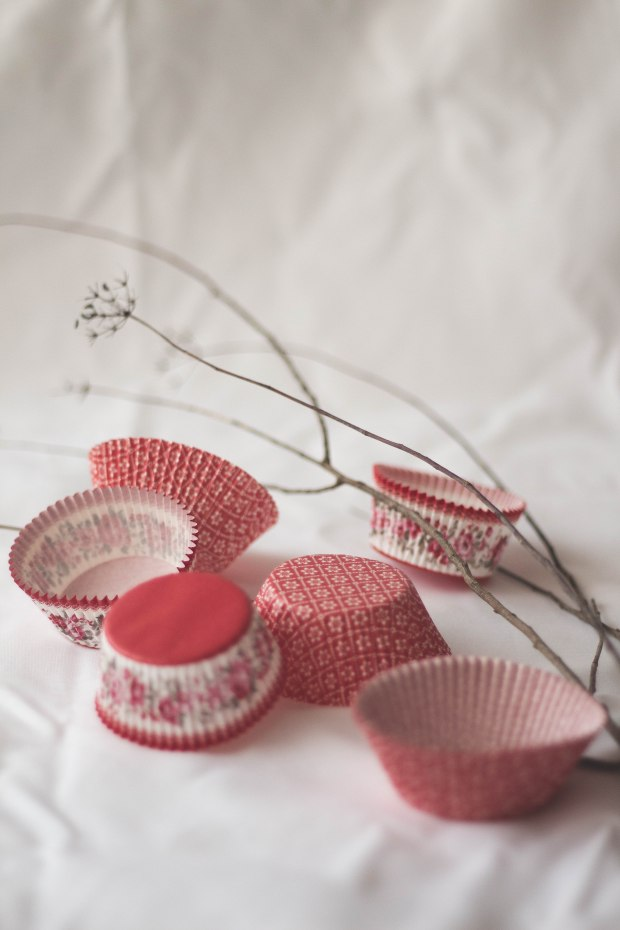 Orange Cranberry Redcurrants Cupcakes