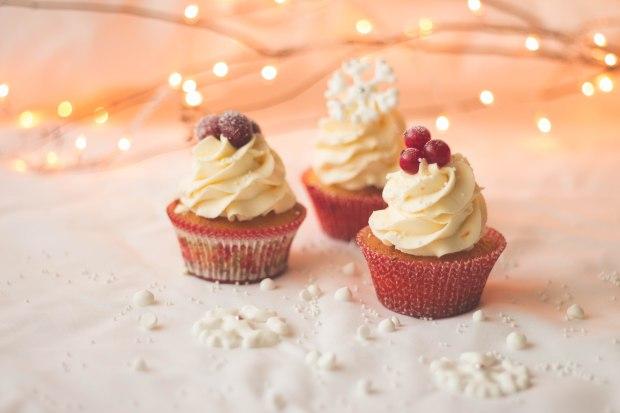 Orange Cranberry Redcurrants Cupcakes11