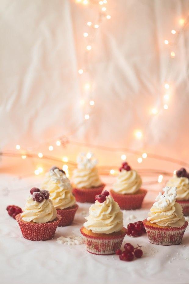 Orange Cranberry Redcurrants Cupcakes4
