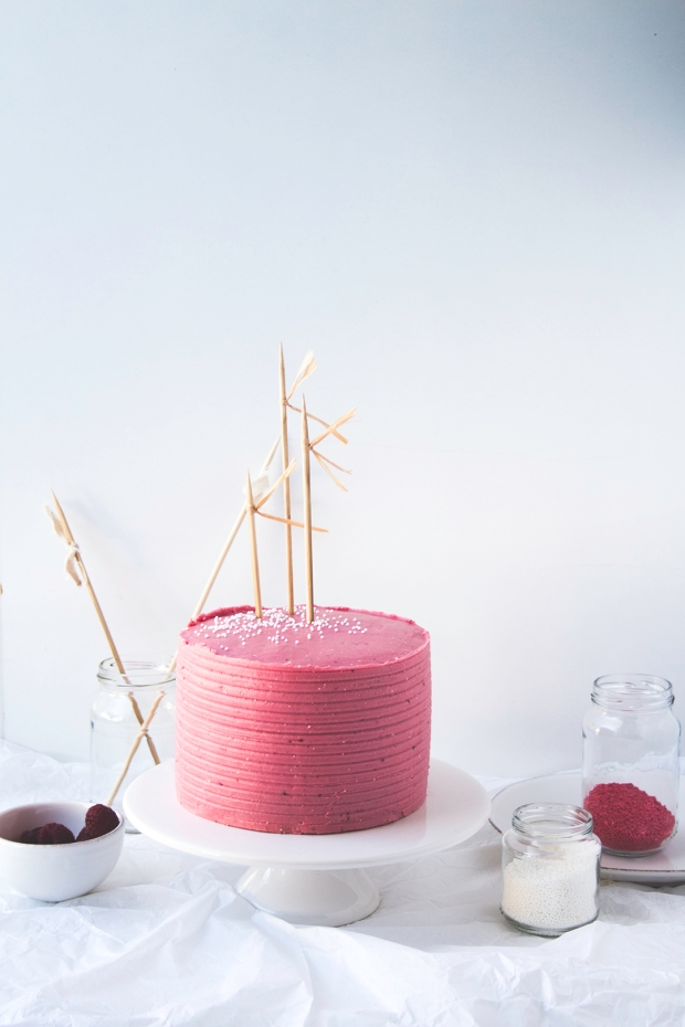 choco cake berries buttercream 7