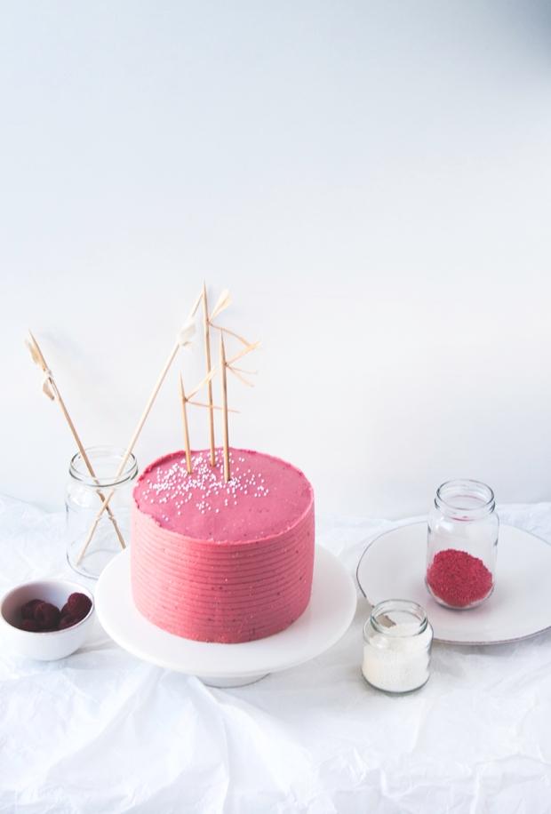 choco cake berries buttercream 8