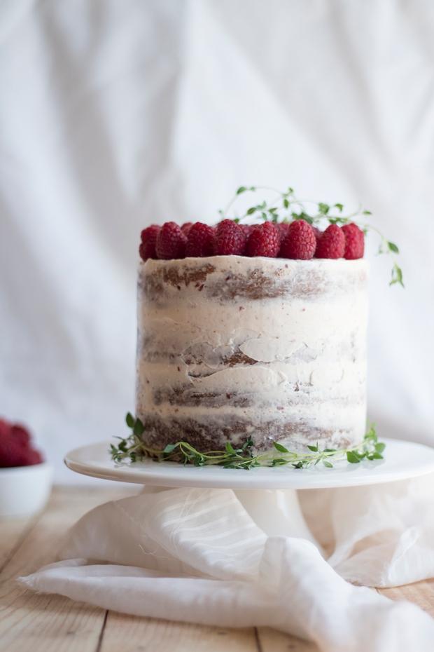 raspberry thyme cake_2