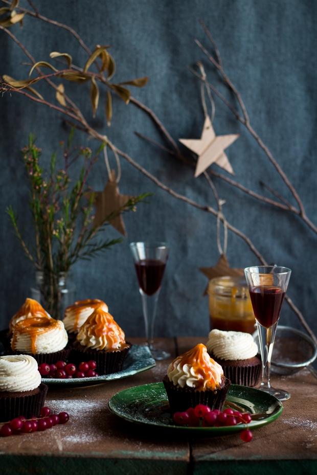 Dark Chocolate & Porto Wine Cupcakes_1