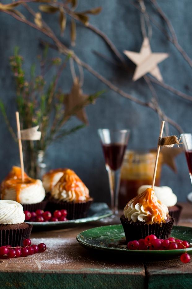 Dark Chocolate & Porto Wine Cupcakes_5
