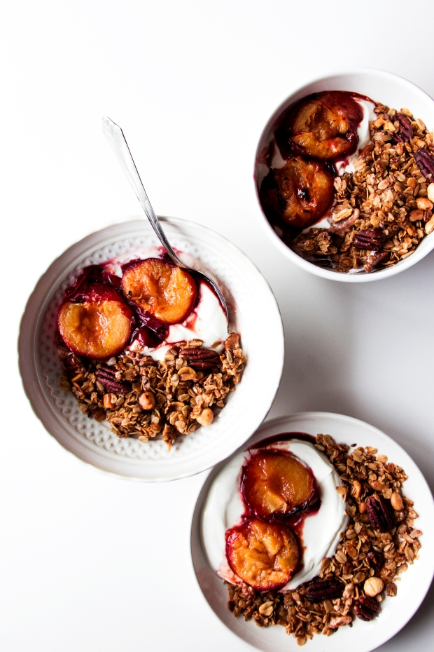 Pecan Granola with Plums 3