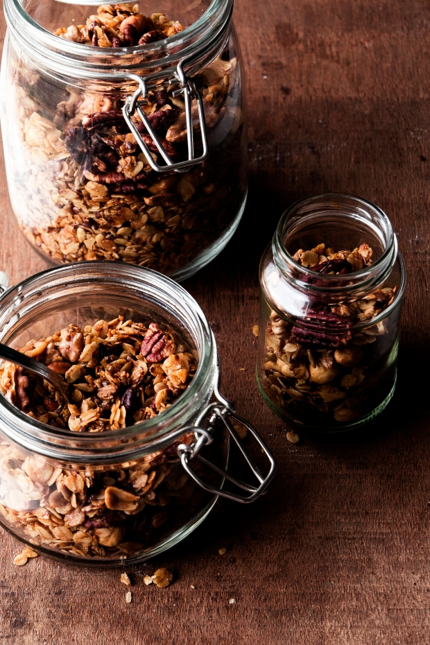 Pecan Granola with Plums 6