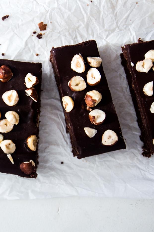 no-bake hazelnut brownies4