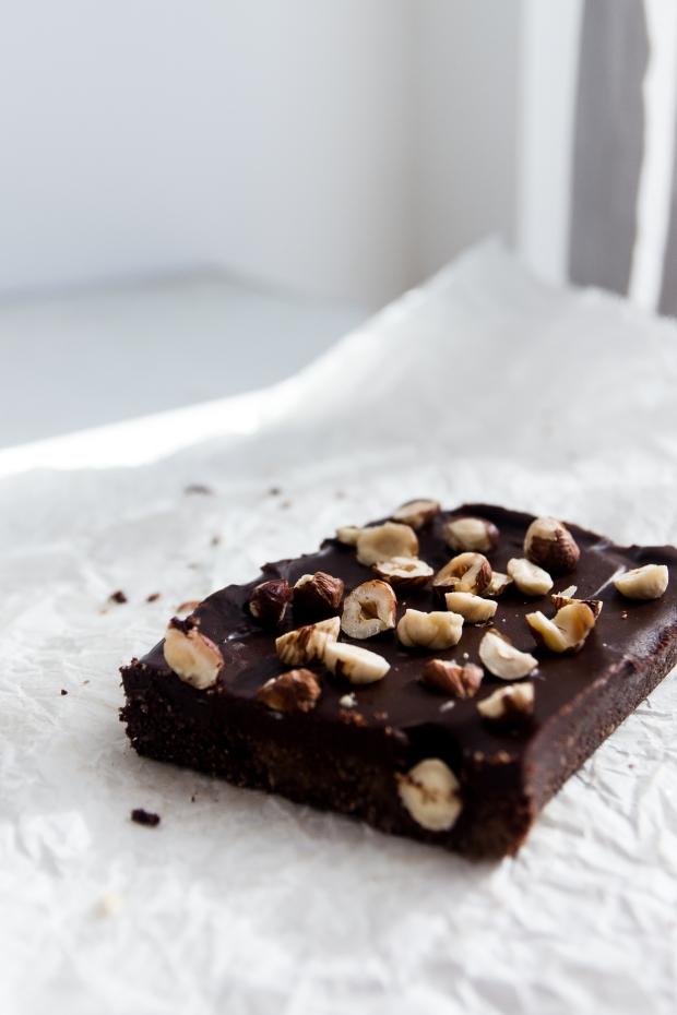 no-bake hazelnut brownies5